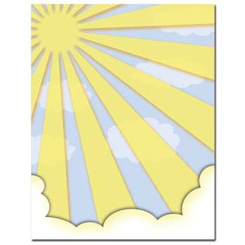 Sun Shiny Day Letterhead