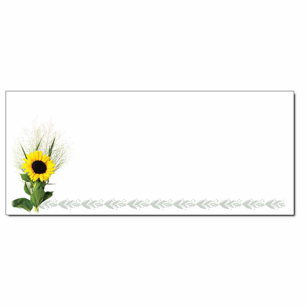 Sunflower Envelope - 25 Pack