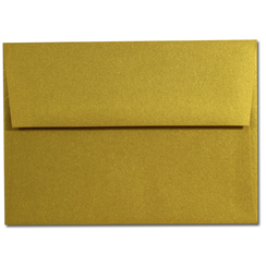 Super Gold A-7 Envelopes - 25 Pack