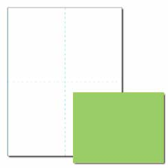 Terra Green Postcard - 200 Pack
