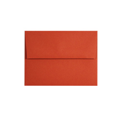 Tangy Orange A-2 Envelopes - 50 Pack