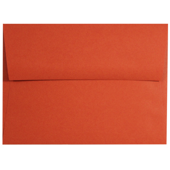 Tangy Orange A-9 Envelopes