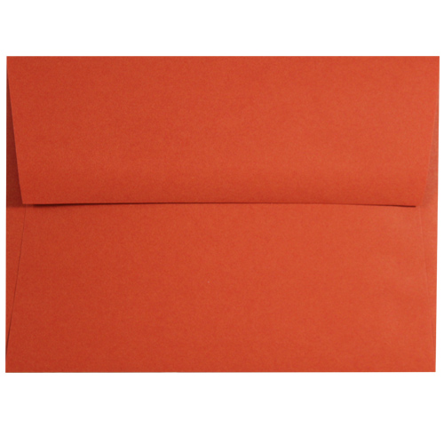 Tangy Orange A-9 Envelopes