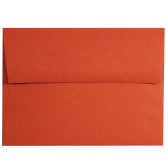 Tangy Orange A-9 Envelopes - 25 Pack