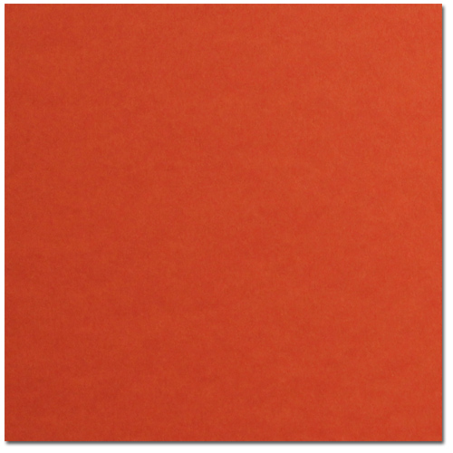 Tangy Orange Cardstock