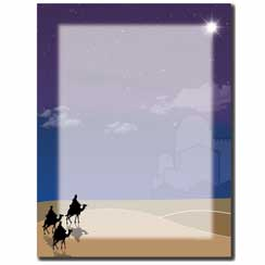 Three Wisemen Letterhead