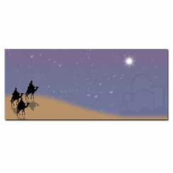 Three Wisemen Envelope - 50 Pack