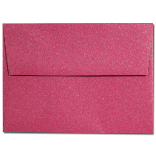 Tropical Pink A-7 Envelopes