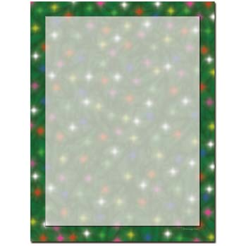 Twinkle Lights Letterhead