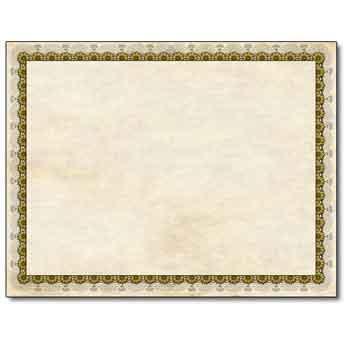 Vintage Gold Certificate
