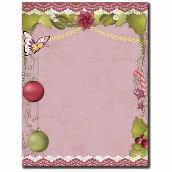 Victorian Holiday Letterhead