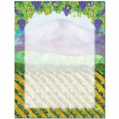 Virginia's Vineyard Letterhead - 100 pack