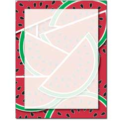 Watermelon Letterhead - 25 pack