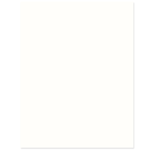Whipped Cream Cardstock - 25 Pack