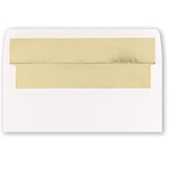 White Gold Foil Env. 25pk.