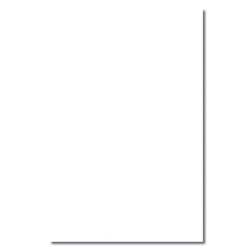 White Jumbo Card