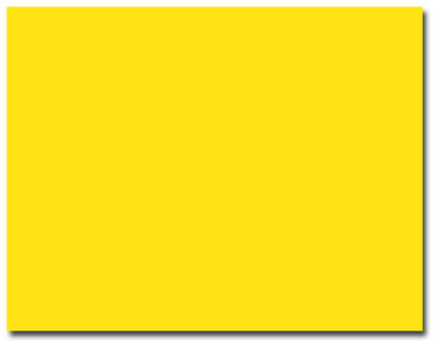 Bright Yellow A-2 Envelopes