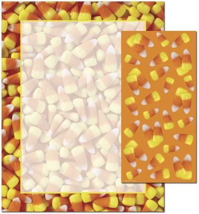 Candy Corn Letterhead