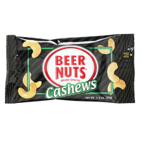 Beer Nuts - Cashews *** Temporarily Out of Stock ***