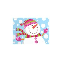 Smiling Snowman - Gift Card