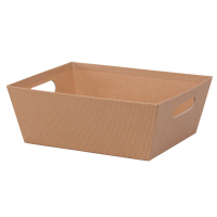 Kraft Solid - Large Tray