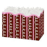 Pink/Chocolate Swirls - Large Box