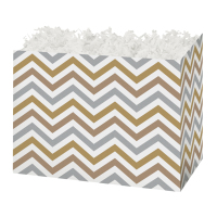 Metallic Chevron - Large Box