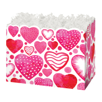 Watercolor Hearts - Large Box