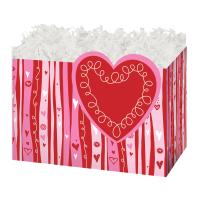 Swirly Hearts - Small Box