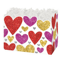 Glittering Hearts - Small Box