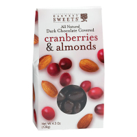 Harvest Sweets Dark Chocolate Covered Cranberries and Almonds
