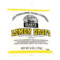 Claeys Old Fashioned Hard Candy -  Lemon