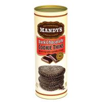 Mandy's Cookie Thins - Dark Chocolate