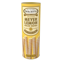Dolcetto Wafer Rolls - Lemon Tin