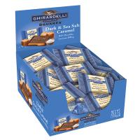 Ghirardelli Chocolate - Dark Chocolate Squares with Sea Salt Caddy
