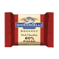 Ghirardelli Chocolate - 60% Dark Chocolate Squares Bulk