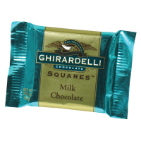 Ghirardelli Chocolate - Milk Chocolate Squares Bulk     *** Available Fall, 2020 ***