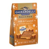 Ghirardelli Holiday Milk Chocolate & Caramel Bag
