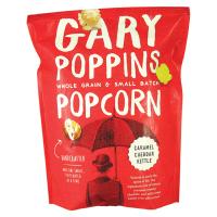 Gary Poppins Popcorn - Caramel, Cheddar, Kettle Mix