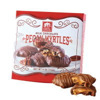 Long Grove Confectionery Milk Choc. Pecan Myrtles *** Available Fall, 2020 ***