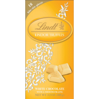 Lindt Lindor Truffle Bar - White Chocolate   *** Available Fall, 2020 ***