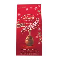 Lindt Lindor Truffle Mini Holiday Bag-  Milk Chocolate Milk *** Available Fall, 2020 ***
