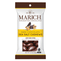 Marich Dark Chocolate Sea Salt Cashews - Single Serve