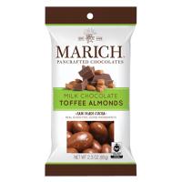 Marich Milk Chocolate Toffee Almonds - Single Serve