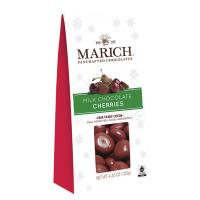 Marich Milk Chocolate Cherries - Gable Box  *** Available Fall, 2020 ***