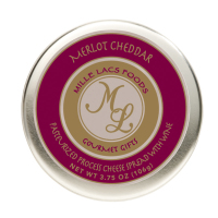 Mille Lacs Merlot Cheddar Wine Flavor Cheese Tins *** Temorarily Out of Stock ***