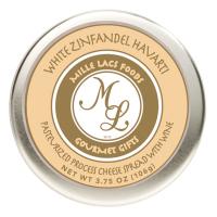 Mille Lacs White Zinfandel Havarti Wine Flavor Cheese Tins