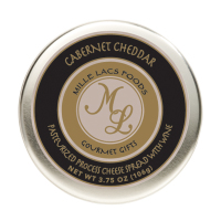 Mille Lacs Cabernet Cheddar Wine Flavor Cheese Tins