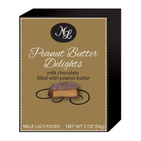 Mille Lacs - Milk Chocolate Peanut Butter Delights *** Temporarily Out of Stock ***