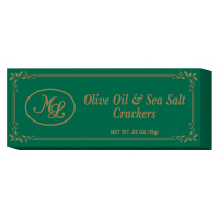 Mille Lacs - Olive Oil and Sea Salt Crackers - Green